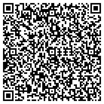 QR-код с контактной информацией организации РОСТО ОМСКИЙ АЭРОКЛУБ