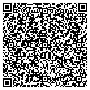 QR-код с контактной информацией организации ПАЛЛАДА ДЕТСКО-ЮНОШЕСКИЙ ЦЕНТР
