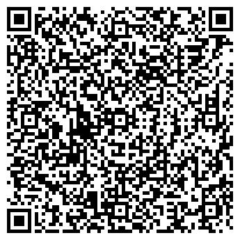 QR-код с контактной информацией организации ТАКТ ТУРКЛУБ ТУСУР