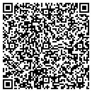 QR-код с контактной информацией организации CAT'S CAFE