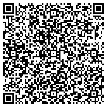 QR-код с контактной информацией организации РУССКАЯ ИЗБА КАФЕ