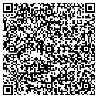 QR-код с контактной информацией организации КРЕДО ПАРИКМАХЕРСКАЯ