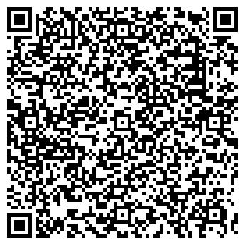 QR-код с контактной информацией организации РАДУЖНЫЙ МАГАЗИН