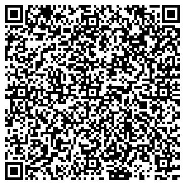 QR-код с контактной информацией организации АКВАРЕЛЬ ШКОЛА ИСКУССТВ № 3 ДЕТСКАЯ