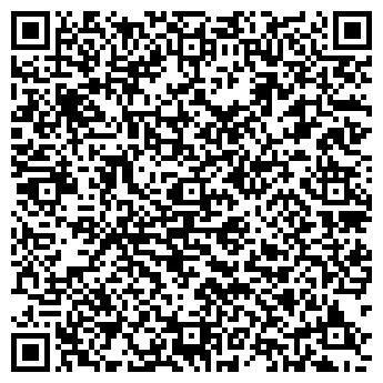 QR-код с контактной информацией организации ФЛОРА АПТЕКА № 122