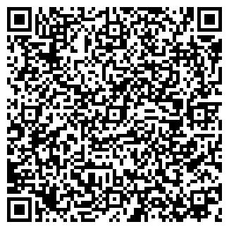 QR-код с контактной информацией организации РАДУГА ЗАО