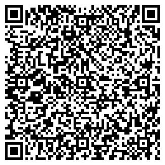 QR-код с контактной информацией организации МЕБИУС, ООО