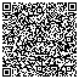 QR-код с контактной информацией организации АЛЬФА ТЕЛЕСТУДИЯ