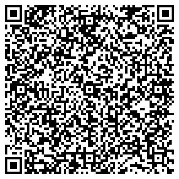QR-код с контактной информацией организации ПАРИКМАХЕРСКАЯ ПРИ ДЕЛОВОМ ЦЕНТРЕ