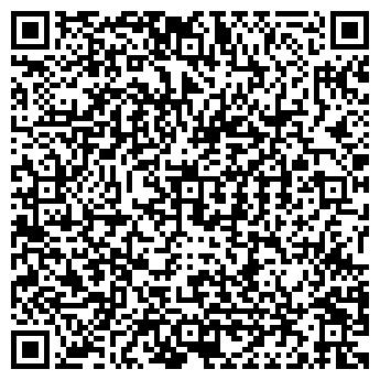 QR-код с контактной информацией организации ПЛАНЕТА 5 ЗВЕЗД