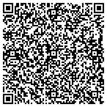 QR-код с контактной информацией организации 1ST ARBAT HOSTEL