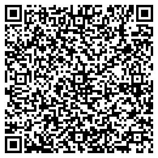 QR-код с контактной информацией организации Библиотека № 1