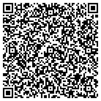 QR-код с контактной информацией организации ШКОЛА ДЮСШ № 1