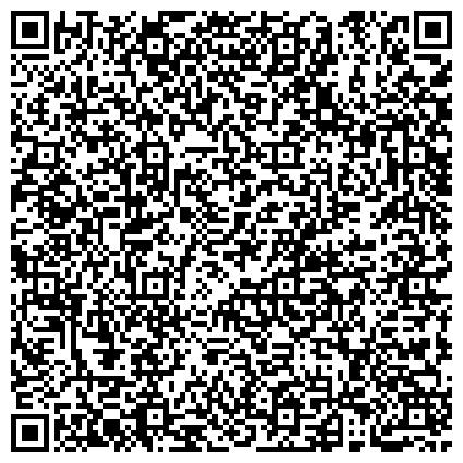 QR-код с контактной информацией организации Фонда социального страхования РФ Ленинградской области