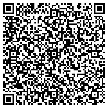 QR-код с контактной информацией организации ЮНОСТЬ, ГОСТИНИЦА, ЗАО