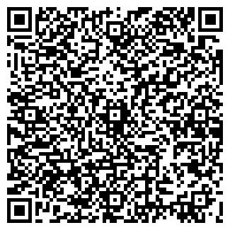 QR-код с контактной информацией организации КАУЧУК