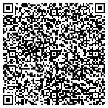 QR-код с контактной информацией организации ИП салон красоты Популярный
