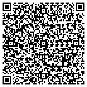 QR-код с контактной информацией организации ИП Бенефис