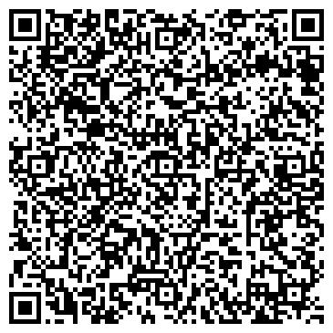 QR-код с контактной информацией организации ИП Клининговая компания Радуга