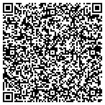 QR-код с контактной информацией организации ООО Салон-парикмахерская ТРИУМФ
