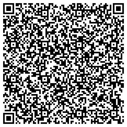 """QR-код с контактной информацией организации АНО СОШ Частный детский сад """"Интеграл"""""""
