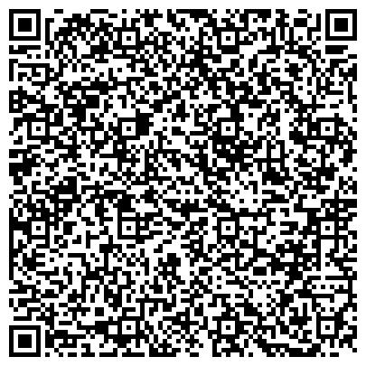 QR-код с контактной информацией организации МЕДИЦИНСКИЙ ЦЕНТР, при УД мэра и правительства г. Москвы