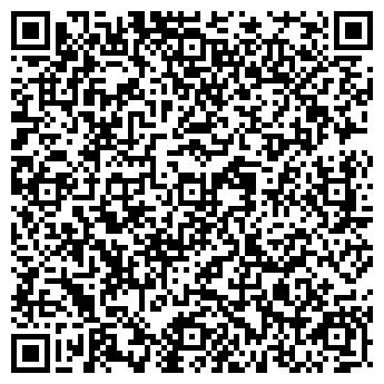 QR-код с контактной информацией организации ООО Сауна «Родники»