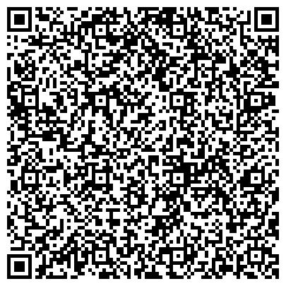 QR-код с контактной информацией организации Управление по делам ГО и ЧС Департамента общественной безопасности Администрации г. Омска