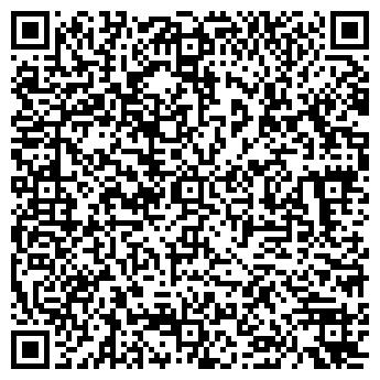 QR-код с контактной информацией организации ТРУД, СДЮШОР, плавание