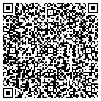 QR-код с контактной информацией организации МегаФон, сеть салонов сотовой связи