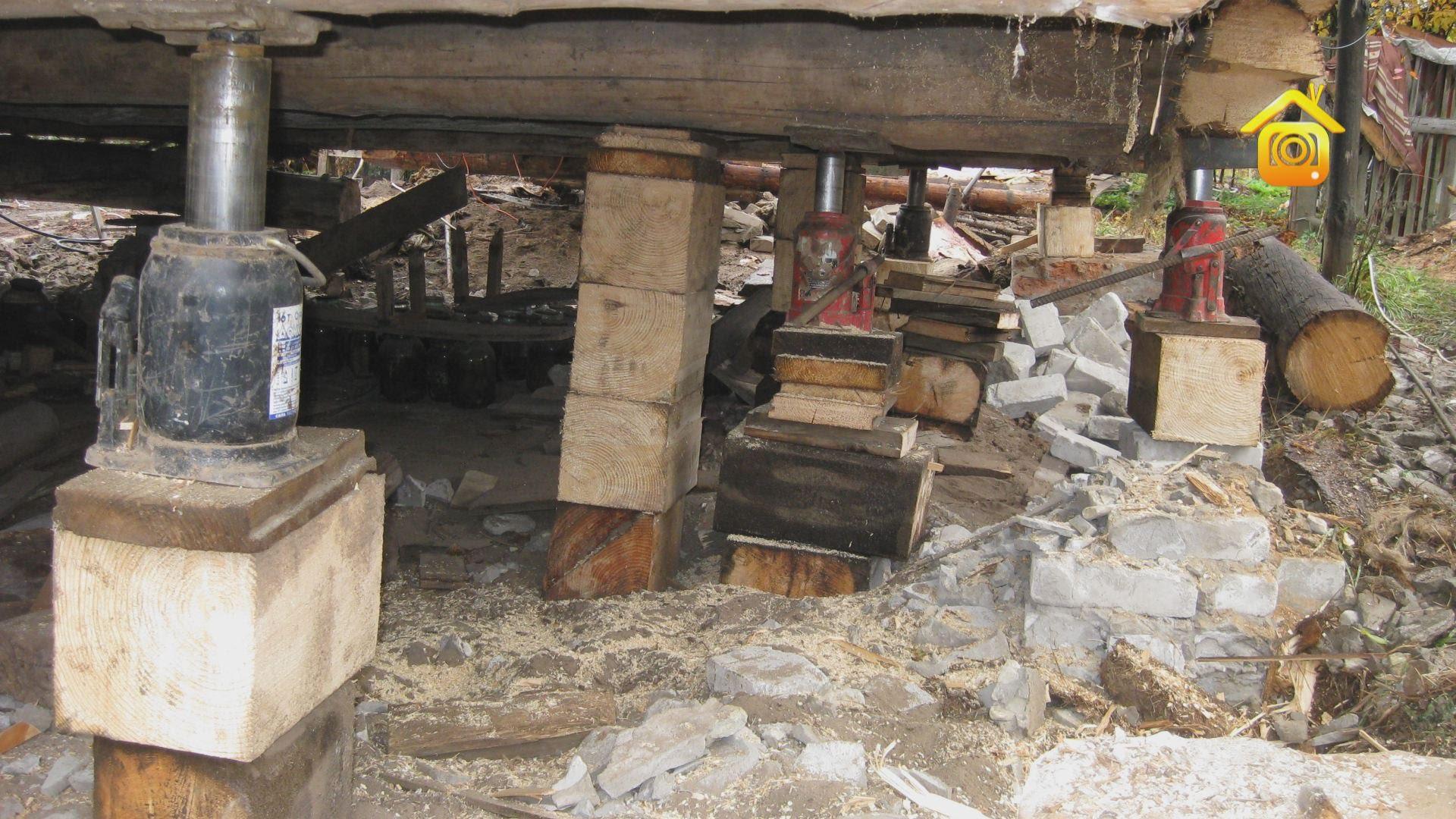 Ремонт деревенского дома своими руками