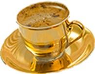 Золотая чашка