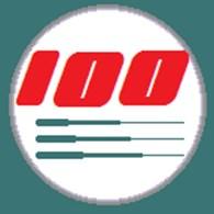 100 удочек