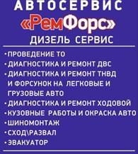 Дизель сервис РемФорс