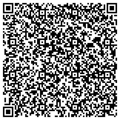 QR-код с контактной информацией организации Отдел занятости населения по Верх-Исетскому и Ленинскому районам