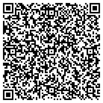 QR-код с контактной информацией организации Гламурный