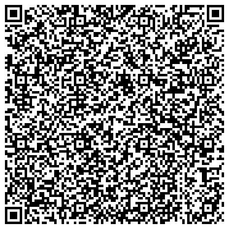 QR-код с контактной информацией организации Отдел организации надзорных мероприятий в области гражданской обороны, защиты населения и территорий от чрезвычайных ситуаций