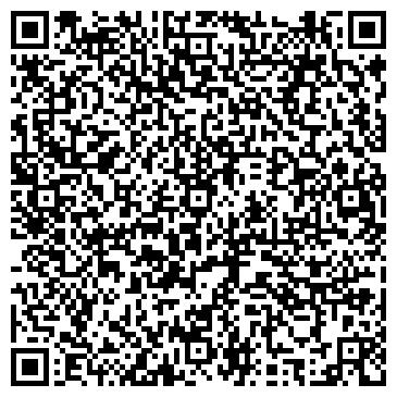"""QR-код с контактной информацией организации Студия красоты """"HairSilk"""""""
