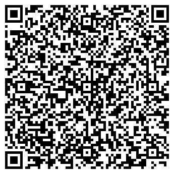 QR-код с контактной информацией организации FitCity (ФитСити), ИП