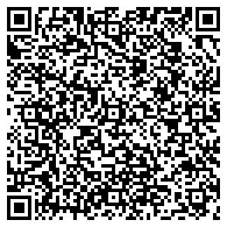 QR-код с контактной информацией организации АЛЫЕ МАКИ