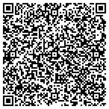 QR-код с контактной информацией организации ООО Gloss Fire