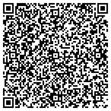 QR-код с контактной информацией организации ЭЛЬФА, МАЛИНСКАЯ ШВЕЙНАЯ ФАБРИКА, ООО