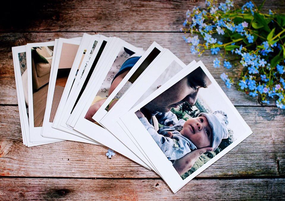 Печать фотографий с белыми полями плеяд телец
