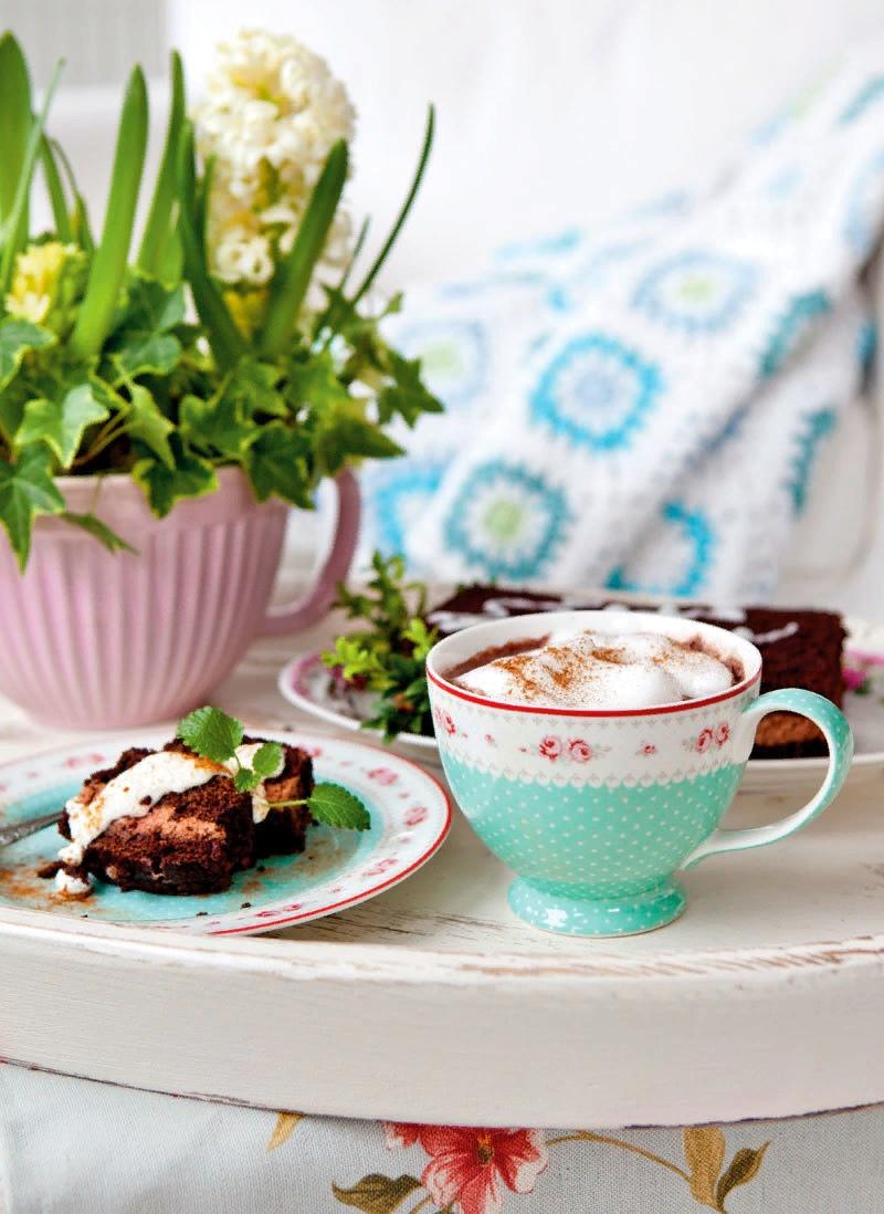 картинка весеннее утро с кофе