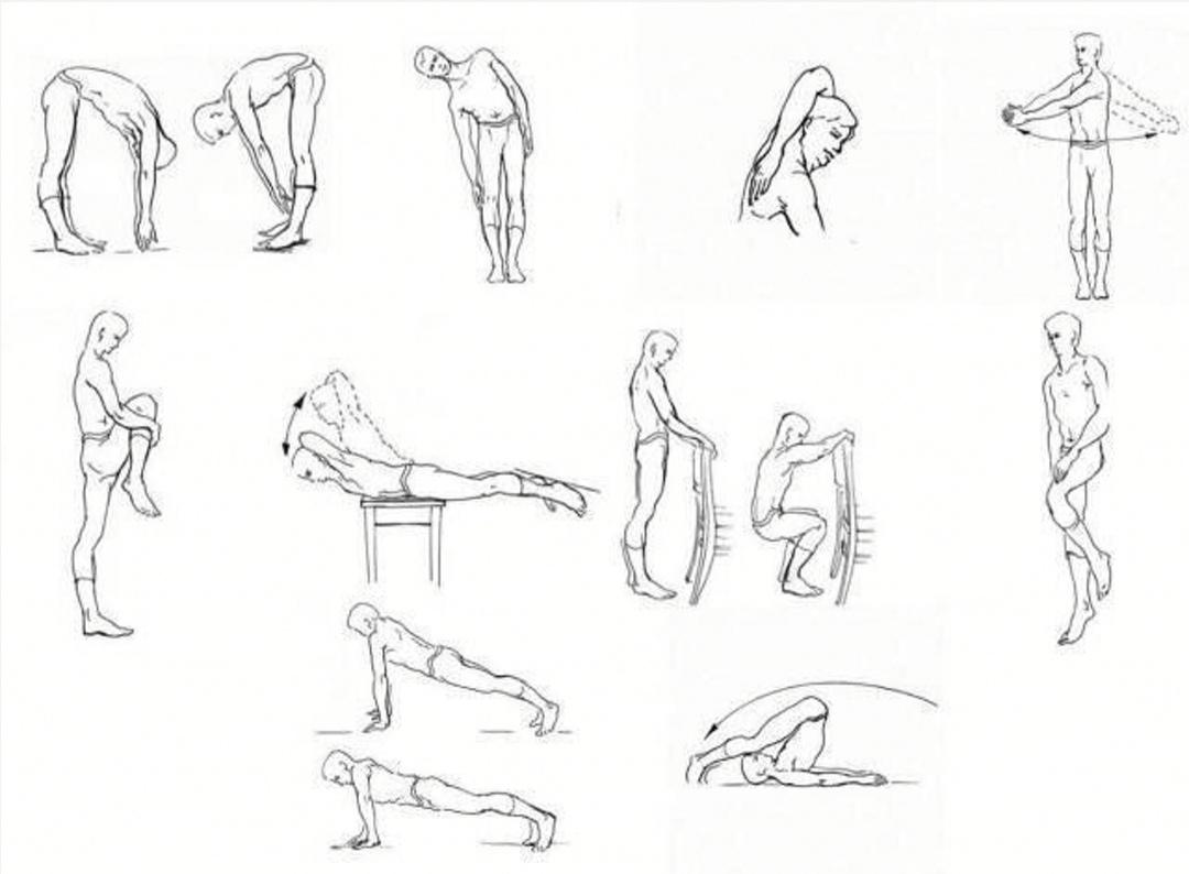 Фитнесбол упражнения с картинками тем как