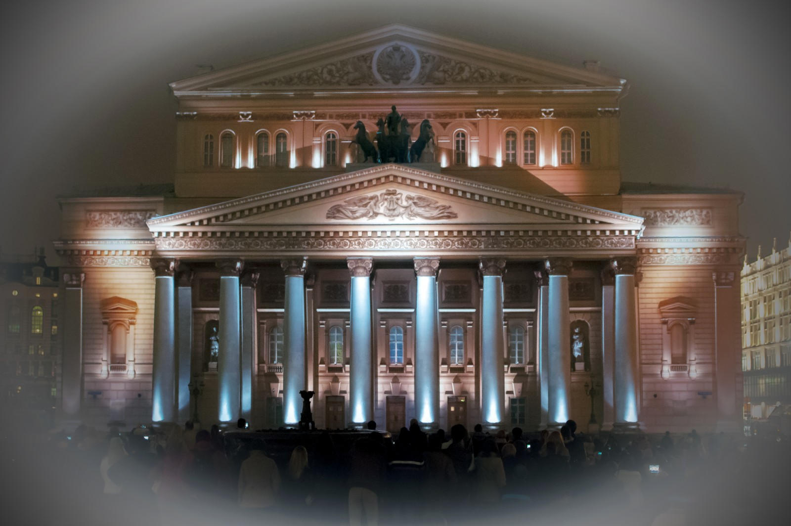 Картинка фасада большого театра