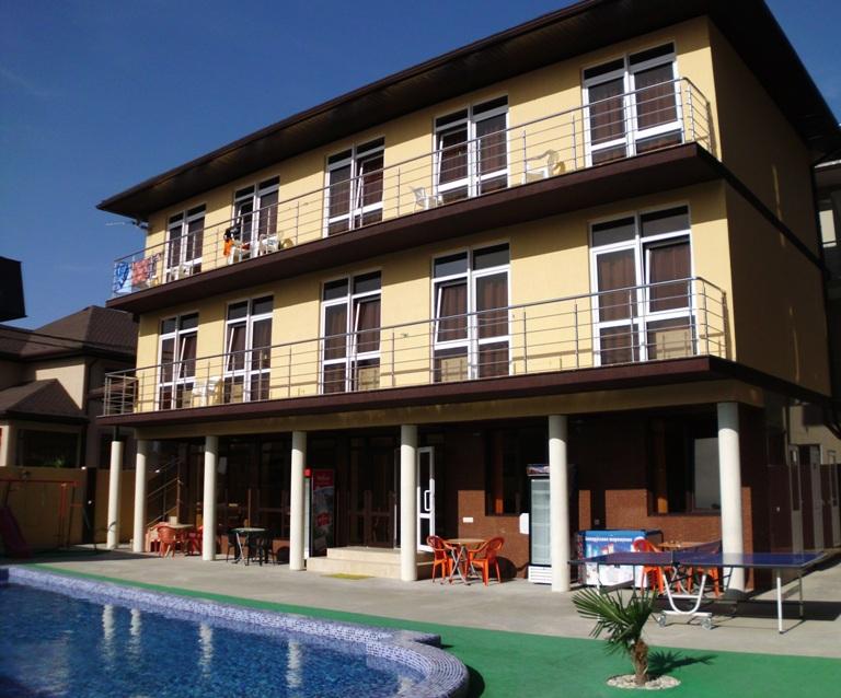 Поселок лазаревское гостиница римма фото